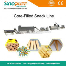 Corn Cheese Ball Snacks Extruder Machine 22Kw/Core Filled Stick Machine