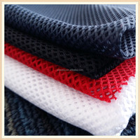 k China textile factory polyester types of mesh fabric warp tricot lining fabric