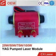 2017 hot sale 200w yag laser parts diode laser module for cnc marking machine