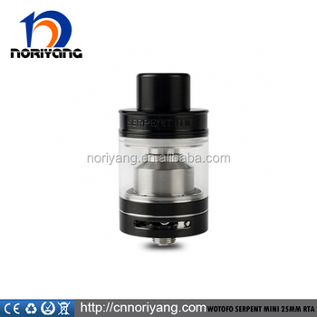 Single or dual coil Build Deck new items Wotofo Serpent Mini RTA 25MM