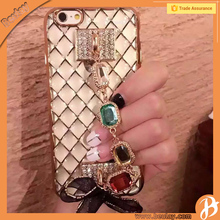 lastest Girls Design Mobile Phone Back Covers With Bracelet For Iphone6