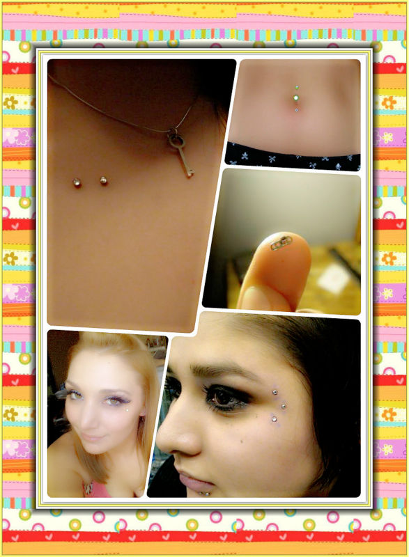 Skin diver piercing jewelry internal thread Titanium cone top dermal anchor