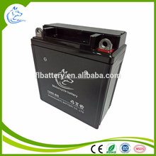 New China superior quality 12v 5ah dry MF lead acid battery motorcycle battery