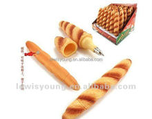 Bread pizza ice cream ball-point pen shape - food creative craft pen