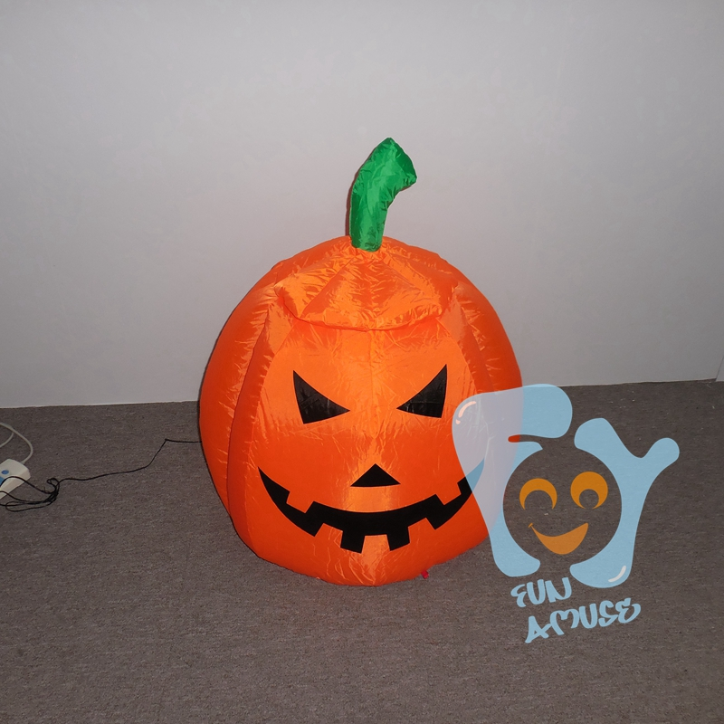 Supply Horrible Lighted Chrismas Inflatable Ghost and Pumpkin