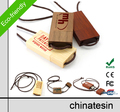 Custom Wooden USB flash memory, lanyard USB pendrive, USB stick
