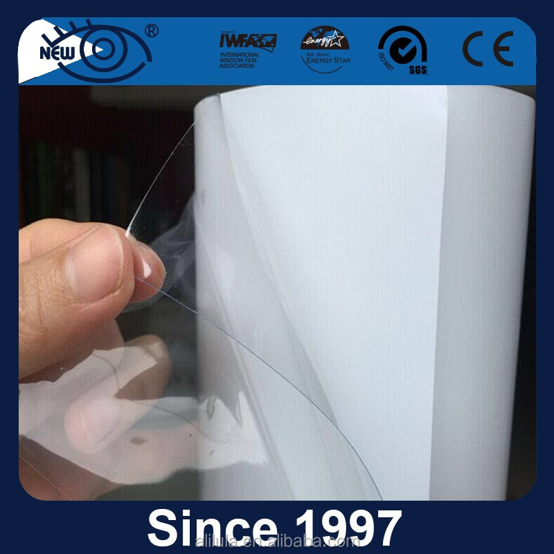 Transparent auto bra paint protection film for prevent dings and scratches