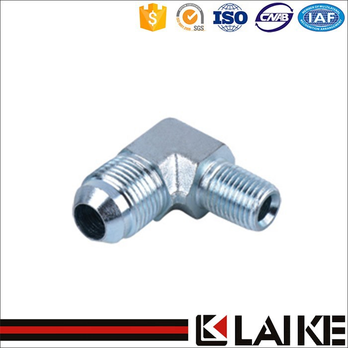 Customized available metric female hydraulic pipe fitting elbow asme b16 9