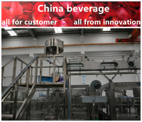 Water bottling production line / washing filling capping machine