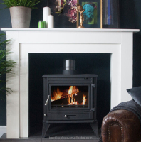 CE EN13240 Comtemporary Cast Iron Stove, Wood Burning Stove