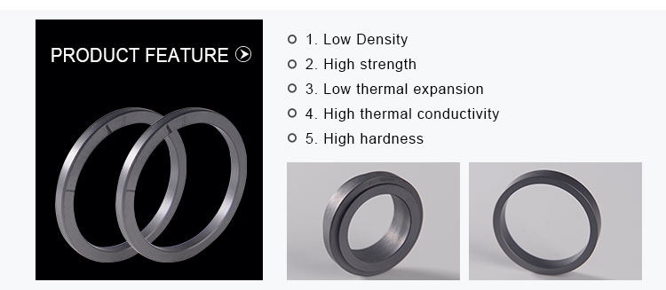 High quality factory wholesale custom RBSIC silicon carbide seal ring
