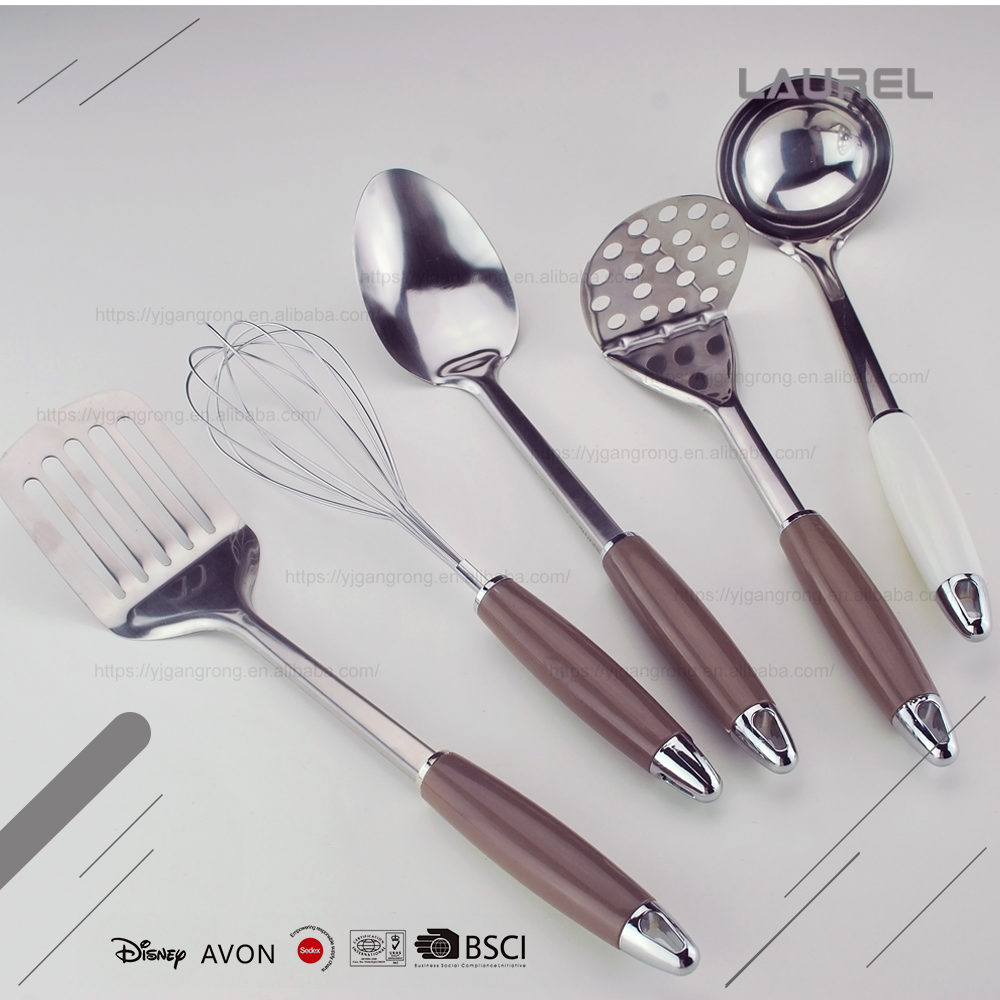 Full functioning strong kitchen stainless steel kitchen utensils set