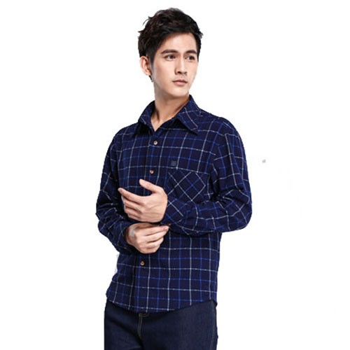 wholesale Heating Male nano shirts,elegant latest shirts pattern for men