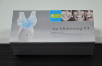 Bright teeth whitening kit, 5blubs, silicone soft tray