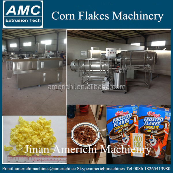 Kelloggs Frosted Flakes Making Machine