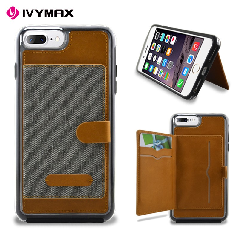 IVYMAX Manufacturers in china Pu Leather Wallet Case For Iphone 7 , For Iphone 6 Wallet Case ,For Iphone 6 Leather Wallet Case