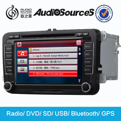 Hot sale!!! unique car dvd player with gps suitable for VW/skoda support wince 6.0 OS system