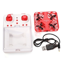 Latest DHD D3 Micro Mini Pocket Drone Quadcopter RC Helicopter Red 2.4G Remote Control 4CH 6-Axis Gyro Headless Mode Toys
