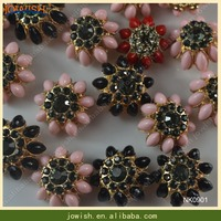 novelties wholesale fur coat metal shank button china ladies rhinestone button fancy color plastic button