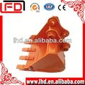 PC200-8/PC210-8 excavator digging bucket with material Q345B