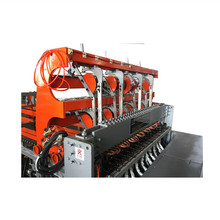Automatic CNC Cage Fence Mesh Welding Machine with 2 cross wire hoppers