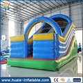 7*3.5m inflatable ground slide amusement park air dry slide for kids