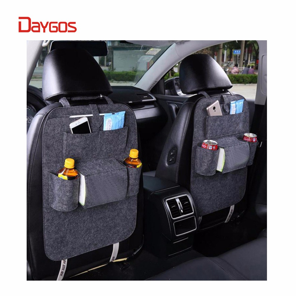 2018 1pc Felt car organizer bag Back Seat Bag Organizer