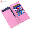 Leather Travel Wallet Leather Holder for Passport and Ticket/Boarding Pass leather travel wallet