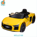 WDJJ2198 2018 Newest Kids Gift Items Electric And Music Rc Car Models Audi R8 Baby Ride On Toy
