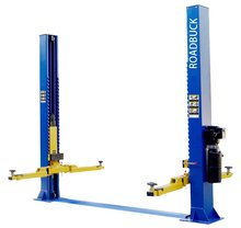 2 post vehicle lift equipment ,floor plate hydraulic two post car lift
