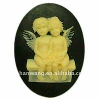 Nicole Silicone Mold Silicone Rubber Angel Polymer Clay Molds Resin Molds F0006