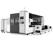 Fiber Laser Cutting Machine with Exchange Working Table and Automatic Loading Unloading <strong>System</strong>