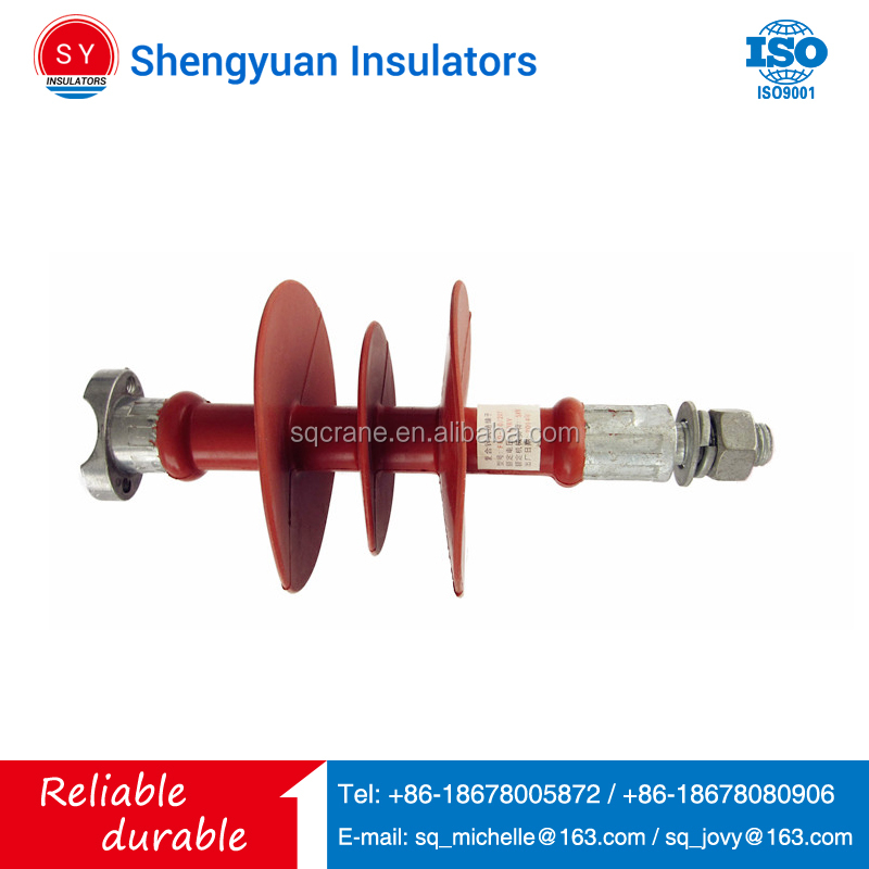 Shengyuan Low Price 33kv Pin Type Support Polymer Insulator