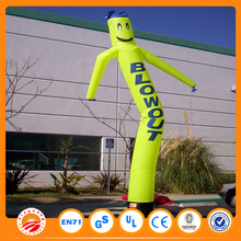 Car washing waving man with custom logo printing inflatable air dancer blower