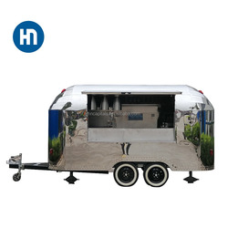 Food Vending Trailer Cars, Snack Trailer, fast Food Carts Selling Food Truck For Sale/ Mobile Restaurant Trailer