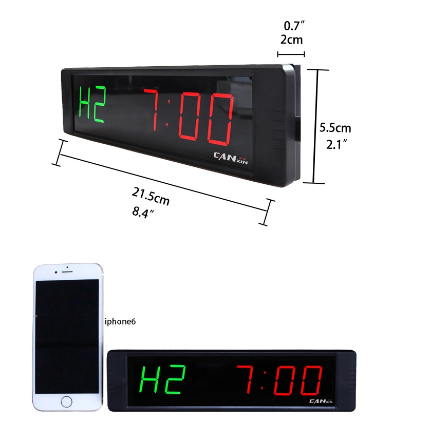 Ganxin  countdown count up remote control timer bell timer