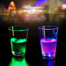 Led Flashing Cup Factory Sell Lighting Promotional Champagne Led Glass Cups