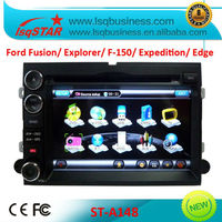 Touch screen car dvd for Ford Fusion/ Expedition/ Mustang/ F150/ Explorer/ Edge GPS Navigation/ 3g usb port hot!