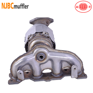 car catalytic converter fit New Santa Fe exhaust manifold universal catalytic converters