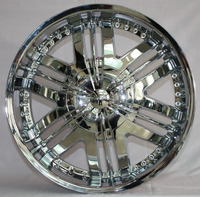 chrome alloy wheel covers mag wheel rim 22/24inch