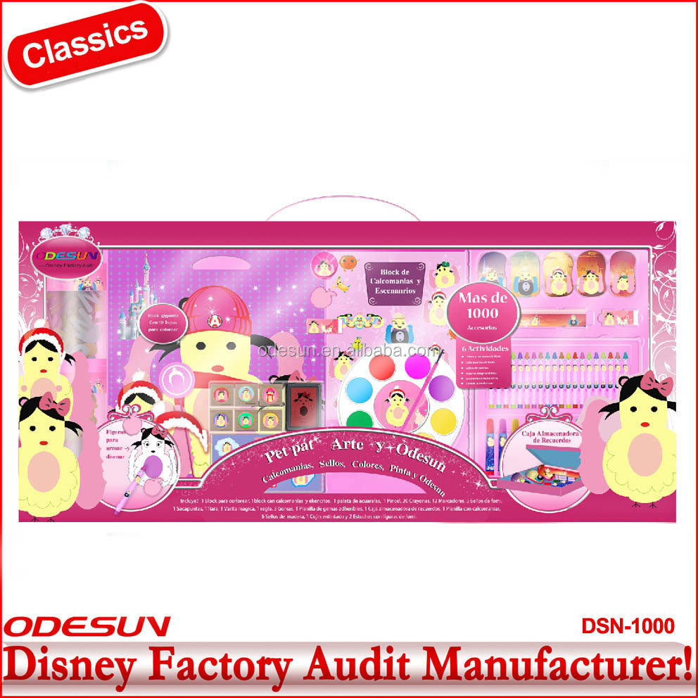 Disney approved factories stationery set