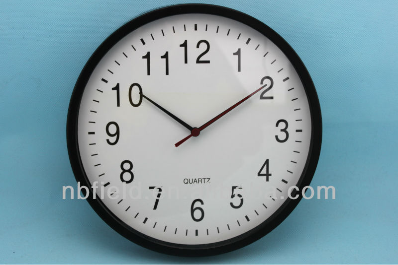 11 inch new plastic round wall clock