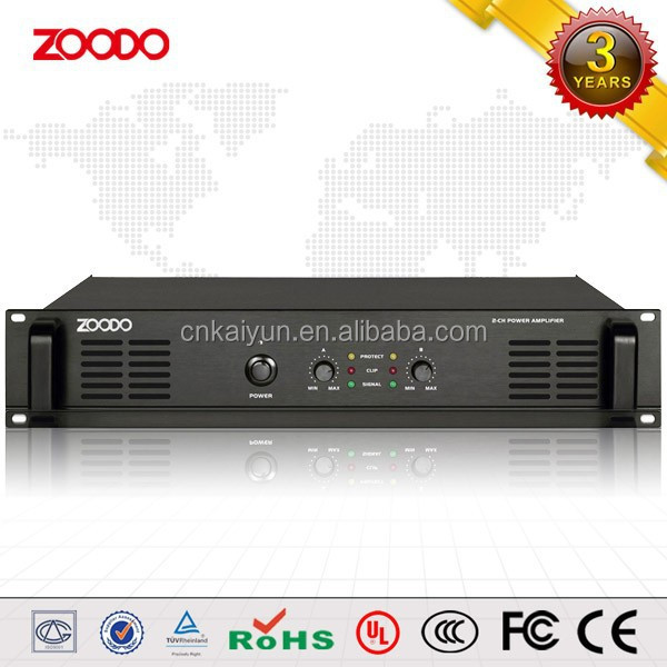 SC-2180 2*180W Balanced Input Multi Channel Amplifier