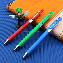 2016 High quality cheap price logo plastic promotional pen for student stationery