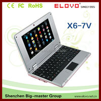 7 inch android 2.2 via wm8650 mini laptop notebook
