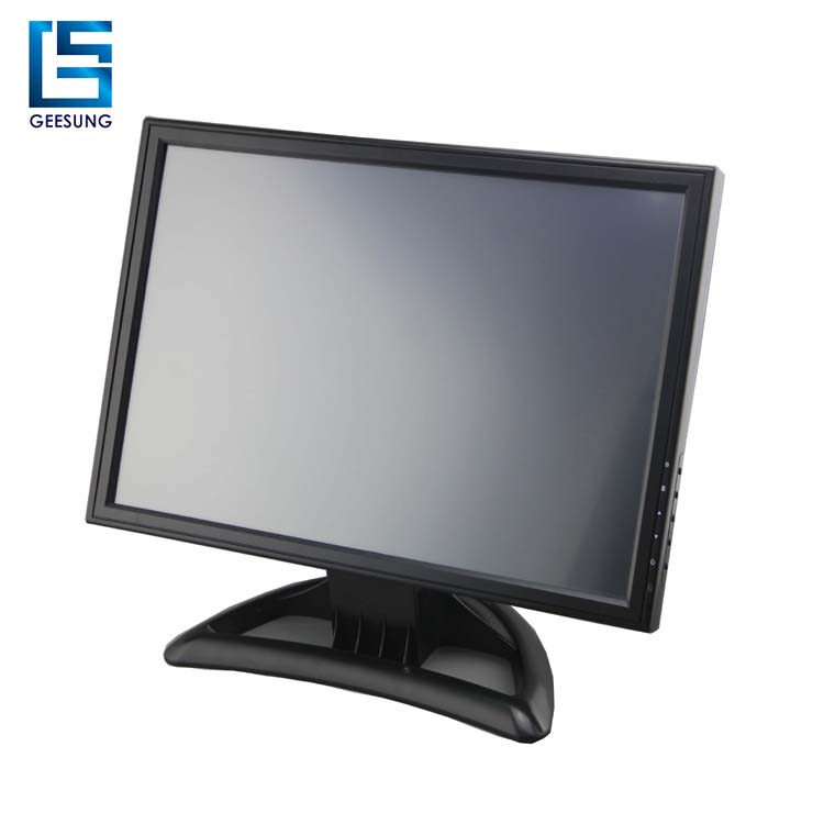 19 inch low cost vertical wall mount touch monitor with ce rosh certificate
