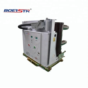 VS1-12 10Kv 11Kv 630A Upto 3150A 3 Poles Medium voltage Indoor drawable Electric Vacuum Switch /Vacuum Circuit Breaker VCB