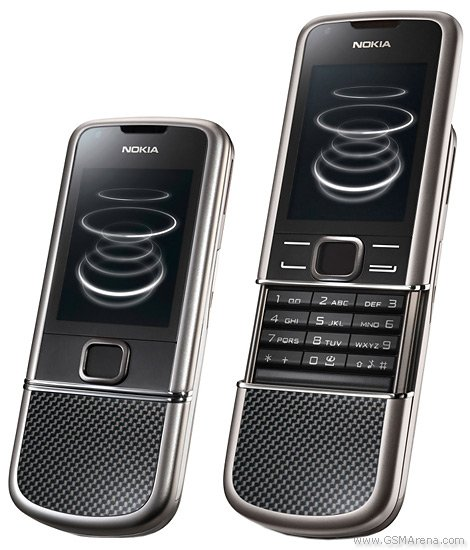 Nokia 8800 Carbon Arte 3G Mobile Phone