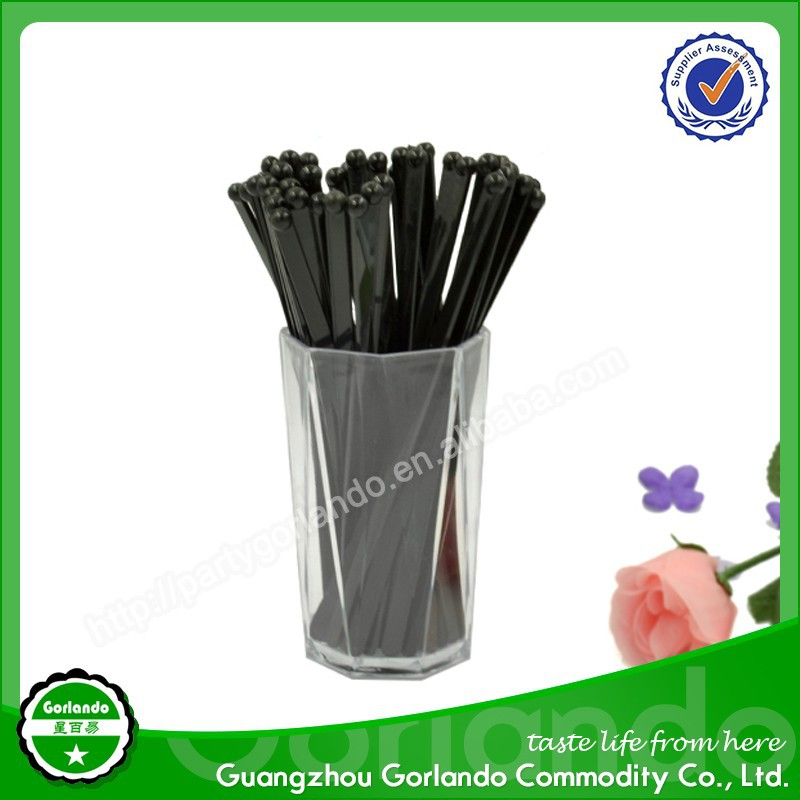 Gorlando hot sell Cocktail supply all kinds of plastic stirrers for drinks