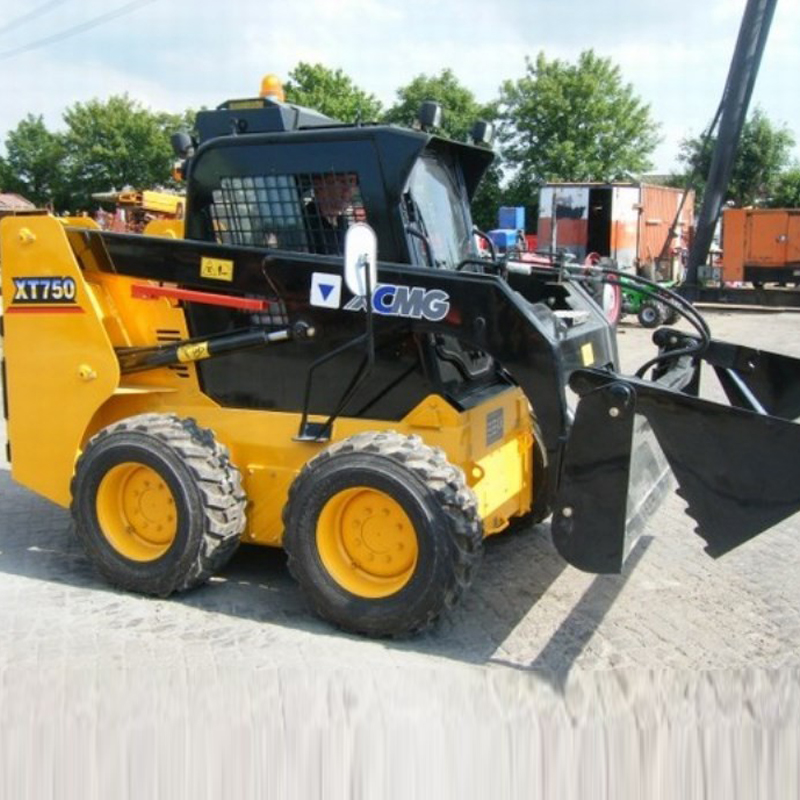 Cheap XCMG mini skid steer loader XT750 for sale
